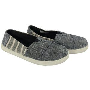 TOMS Classic Canvas Pull On Kid's 3